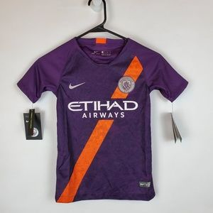 Nike Manchester United Etihad Youth Soccer Jersey